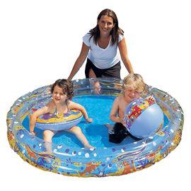 Conjunto piscina 147x25, pilota 41 yi flotador 51 - 86751075