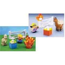 Animalitos de granja textures little people - 90600727