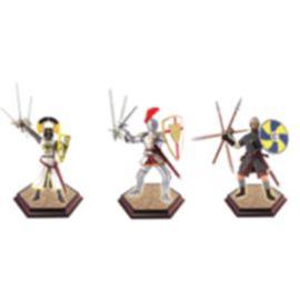 Puzzle 4d caballeros medievales - 15404023