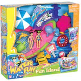 Conjunto de juego isla divertida