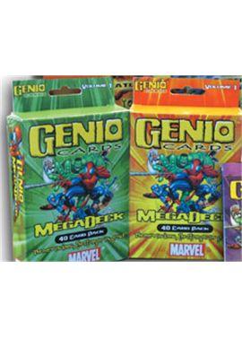 Genio mega deck pack 40 cartas+poster - 03560005