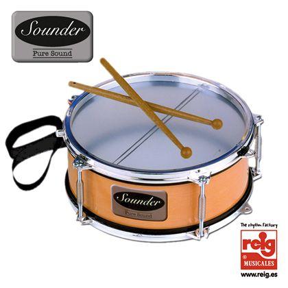 "Tambor ""sounder"" metalizado - 31000731"