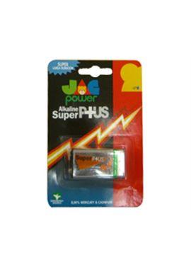 Pack pila 9v super alcalina jac - 93620622