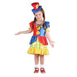 Disfraz payasa (talla 1-2 años y talla 3-4 años) - 92782691