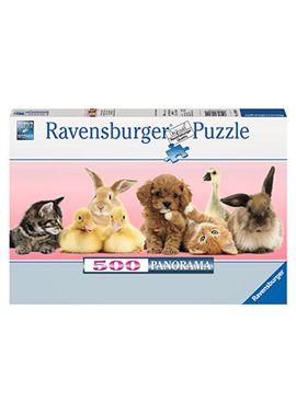 Puzzle panorama 500 amigos para toda la vida - 26914801