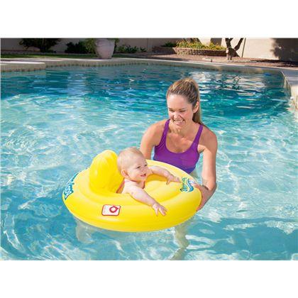 Flotador de aro con asiento swim safe primeros pas - 86732096(1)