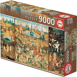 Puzzle 9000 el jardín de las delicias