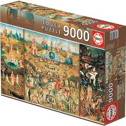Puzzle 9000 el jardín de las delicias - 04014831
