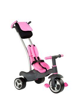 Triciclo con cinturones y bolsa rosa - 26513213