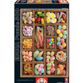 Puzzle 500 collage de golosinas - 04015963