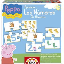Aprendo los numeros con peppa pig