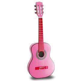 Guitarra madera 75 rosa - 31007066(1)