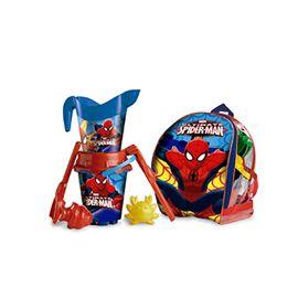 Mochila cubo castillo spiderman