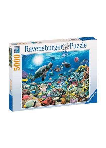 Puzzle 5000 maravillas del mundo submarino - 26917426