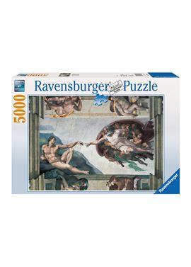 Puzzle 5000 la creacion de adan - 26917408