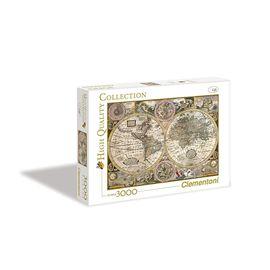 Puzzle 3000 mapa antiguo - 06633531