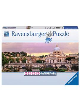 Puzzle 1000 puente del castel sant´angelo, roma - 26915063