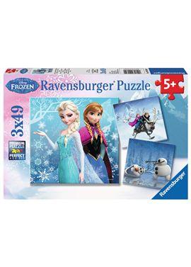 Puzzle 3 x 49 frozen