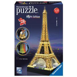 Puzzle 3d torre eiffel con luz - 26912579