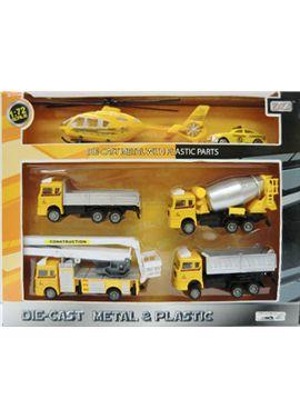 Set vehículos construcción 1:72