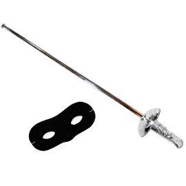 Espada florete con antifaz zorro - 89814577