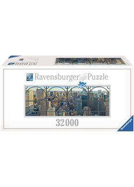 Puzzle 32000 ventana de la ciudad de new york - 26917837