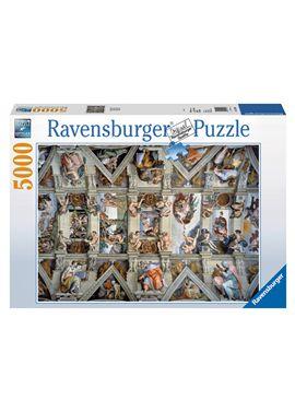 Puzzle 5000 la capilla sixtina