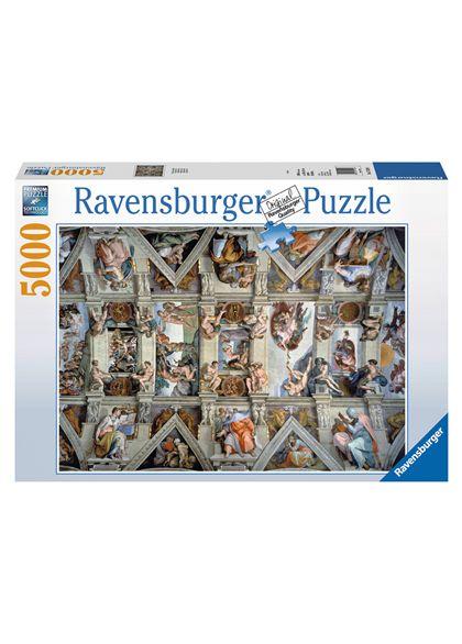Puzzle 5000 la capilla sixtina - 26917429