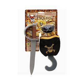 Set armas pirata foam - 90501237