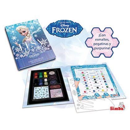 Frozen cuaderno de uñas - 33325093