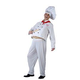 Disfraz chef con barriga talla 52