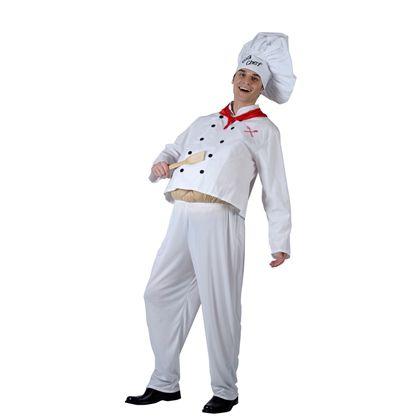 Disfraz chef con barriga talla 52 - 92786343