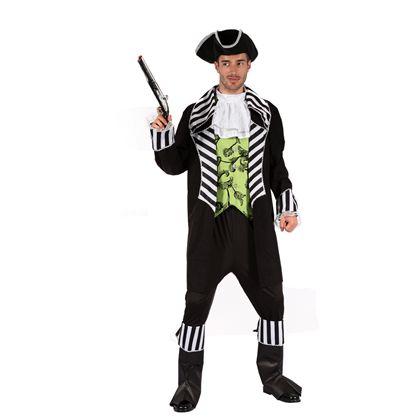 Disfraz pirata chaleco verde hombre (talla 52) - 92799261
