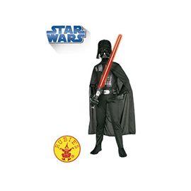 Disfraz darth vader star wars c/másc tl 7-8 años