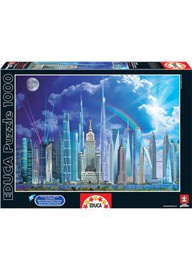 Puzzle 1000 grandes edificios - 04016287