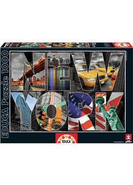 Puzzle 1000 collage de nueva york - 04016288