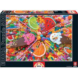 Puzzle 500 dulces - 04016271