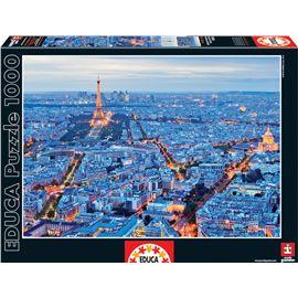 Puzzle 1000 luces de paris - 04016286