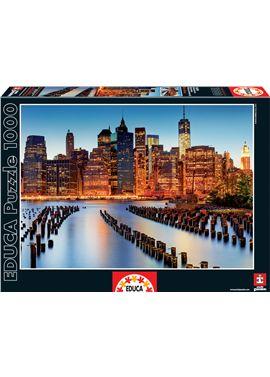 Puzzle 1000 ciudad de los rascacielos - 04016290