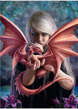 Puzzle 500 puzzle con dragon - 26914643