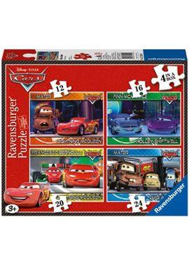Caja con 4 puzzles de cars - 26907259