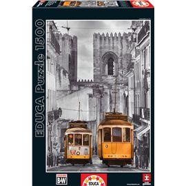 Puzzle 1500 barrio de la alfama, lisboa - 04016311