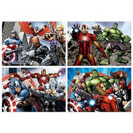 Puzzle multi 4 puzzles avengers