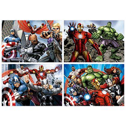 Puzzle multi 4 puzzles avengers - 04016331