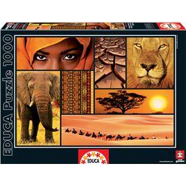 Puzzle 1000 colores de africa - 04016293