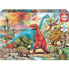 Puzzle 100 dinosaurios - 04013179