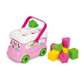 Baby minnie autobus formas y colores - 06614933(1)