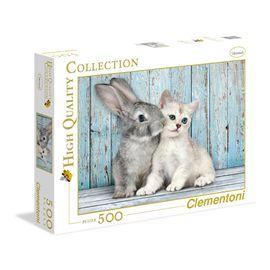 Puzzle 500 gato rubio - 06635004