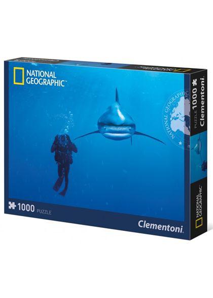Puzzle 1000 tiburon blanco - 06639303