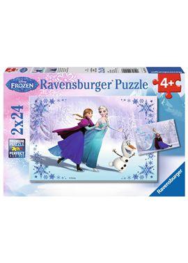 Puzzle 2 x 24 frozen - 26909115